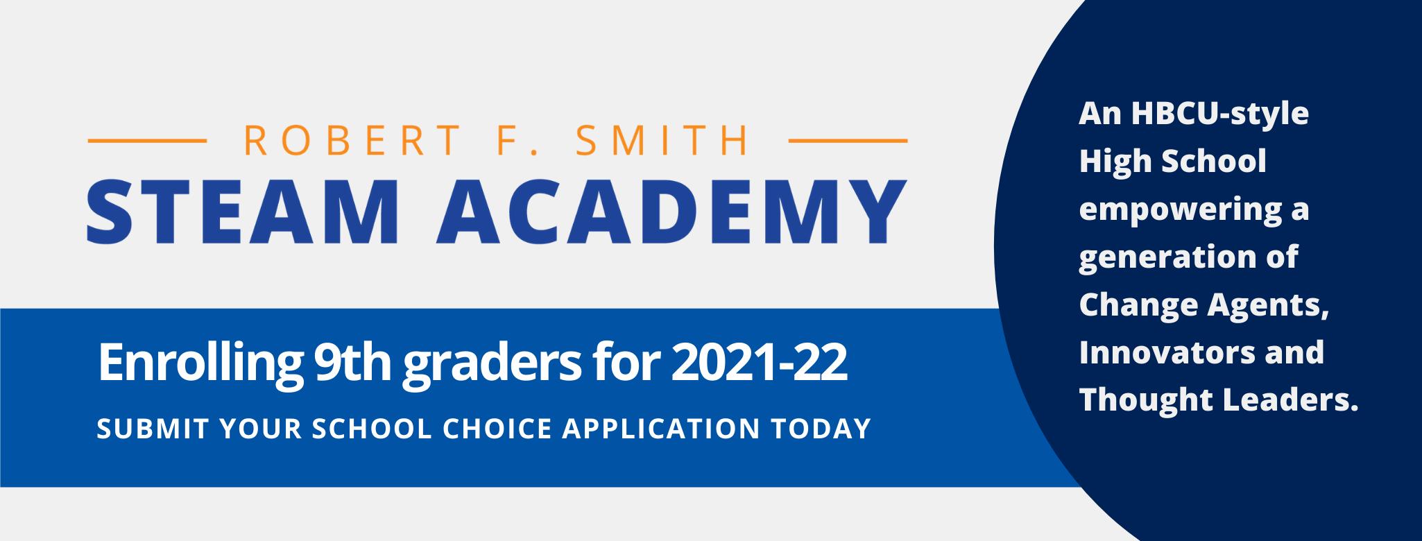 Robert F Smith STEAM Academy