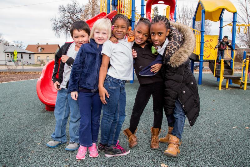 Some of our great DPS kids at Columbine Elementary