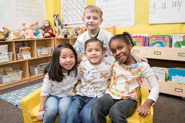 Students at Escalante-Biggs Academy in Far Northeast Denver.