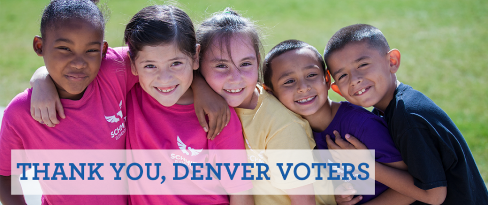 Thank you, Denver voters