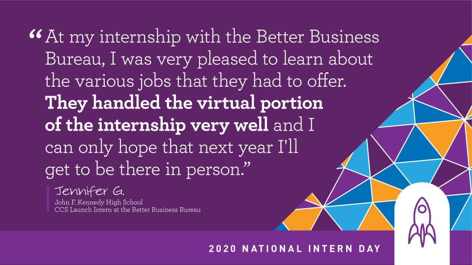 Student intern quotes