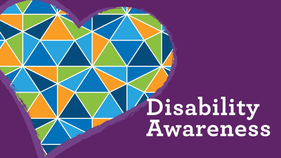 Disability Awareness graphic