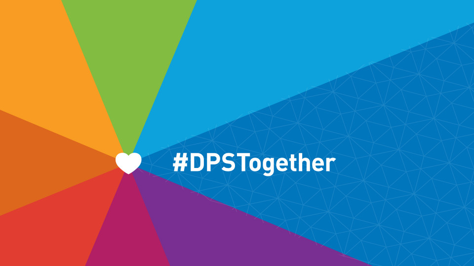 Rainbow rays with #DPSTogether