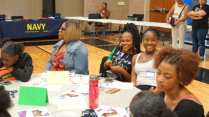 Students at the 2019 African American Young Ladies Summit