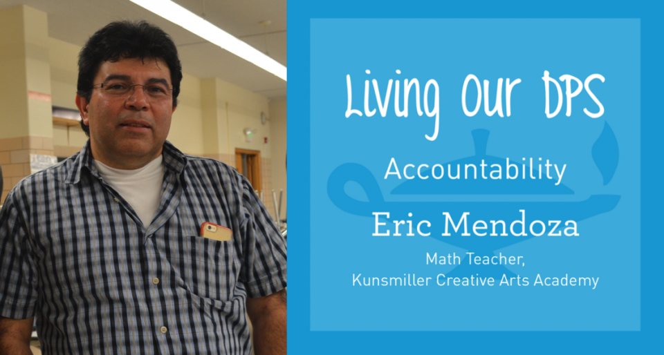 Living Our DPS Honoree: Eric Mendoza