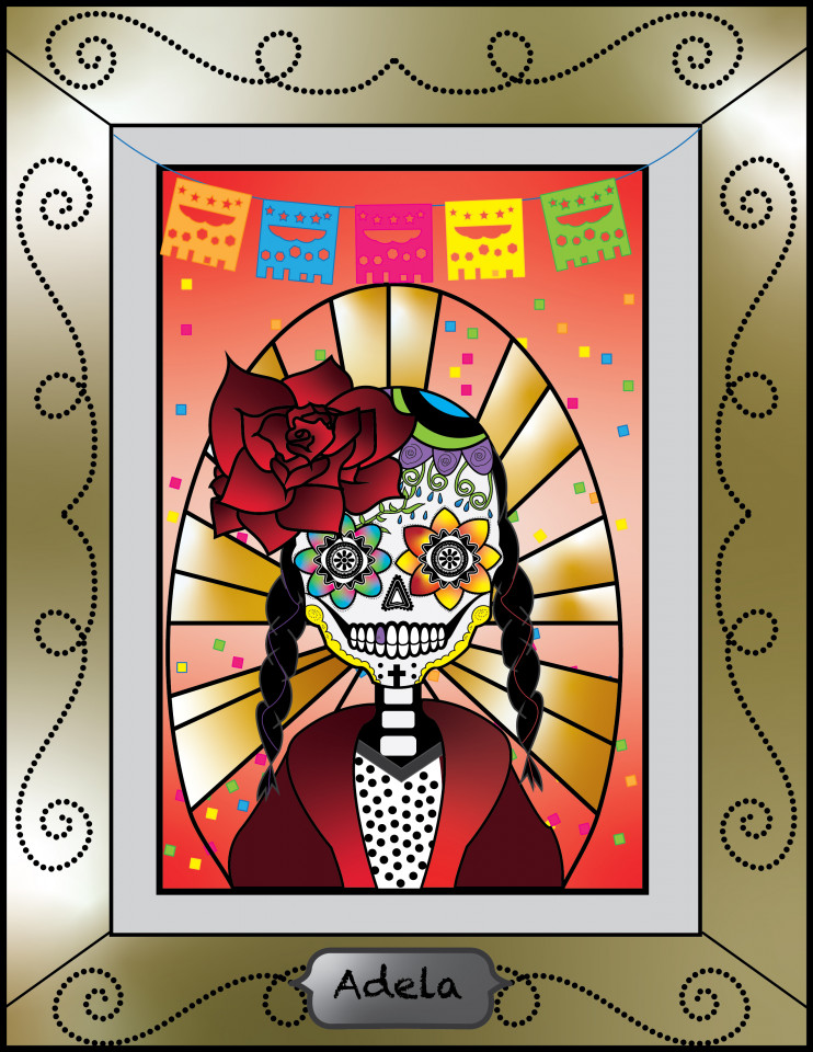 Sugarskull art