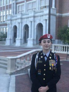 JROTC cadet