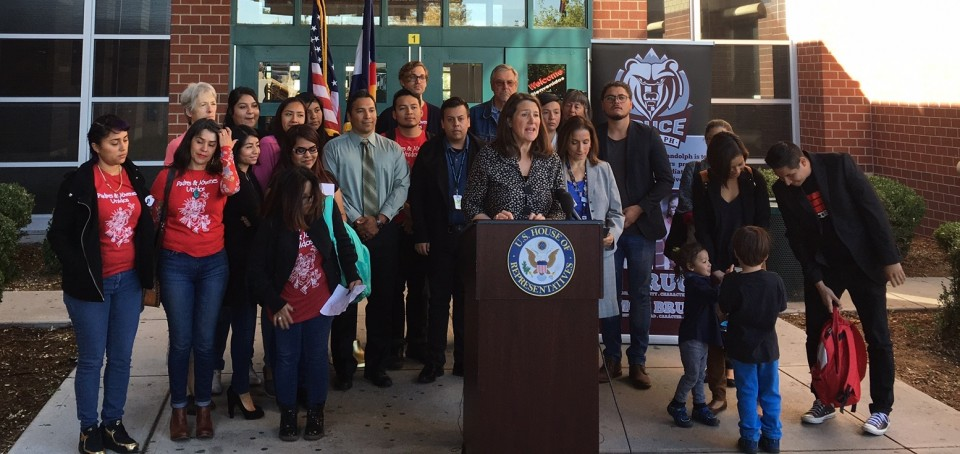 Rep. Diana DeGette (D-CO, 1st District) today joined DPS Deputy Superintendent Susana Cordova for a listening session on President Donald Trump's decision to rescind the Deferred Action for Childhood Arrivals (DACA) program.