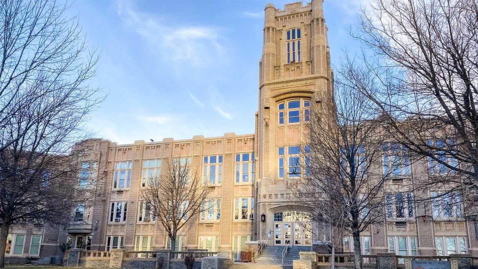 West campus building