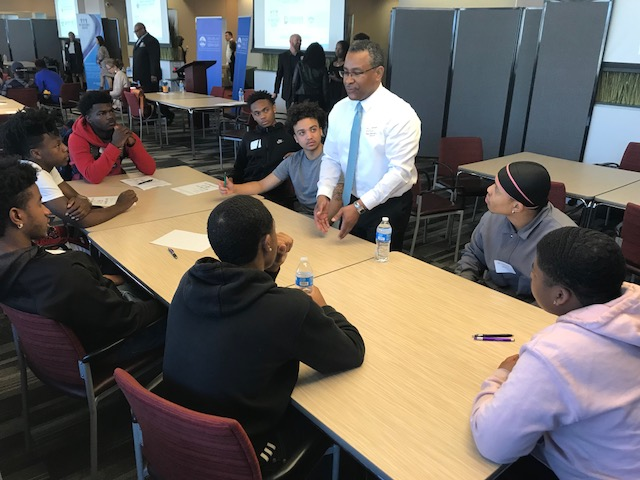 DPS' Black Male Initiative hosts inspiring workshops for high school students