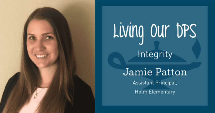 Living Our DPS Honore: Jamie Patton