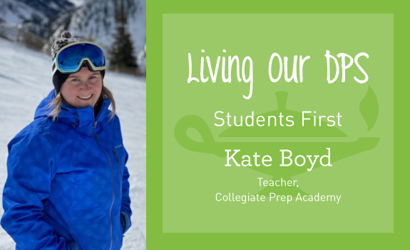 Living Our DPS Honoree, Kate Boyd