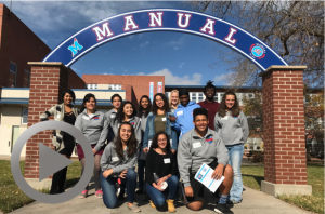 Students from Manual and Weld Central high schools come together during a one-day exchange to repair their relationship. Watch the video here.