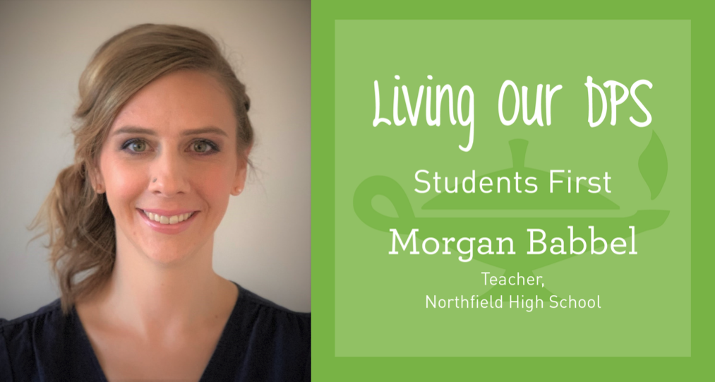 Living Our DPS Honoree: Morgan Babbel