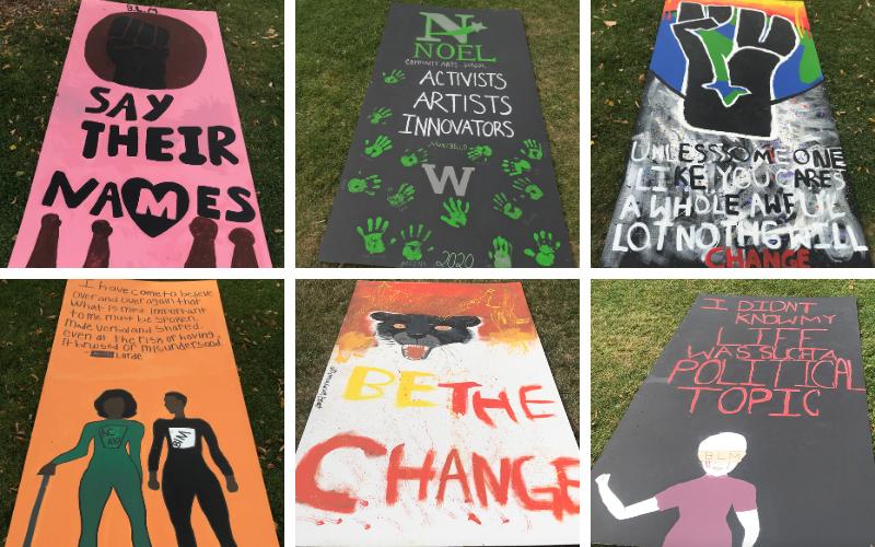 NCAS Student Murals