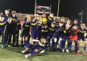 North High School Boys Soccer Team