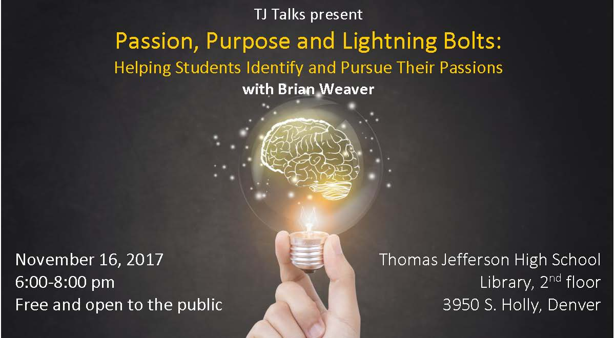 Passion, Purpose and Lightning Bolts