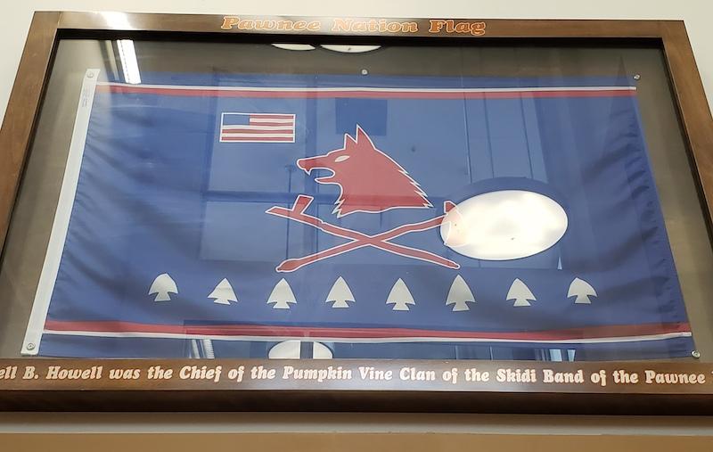 Pawnee Nation flag