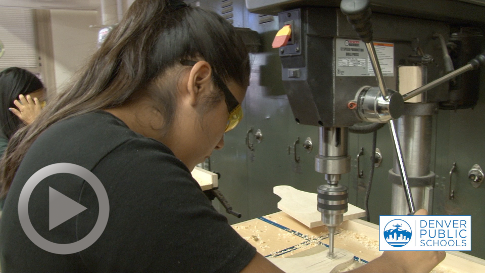 Woodworking Class Draws Students Back to the Trades