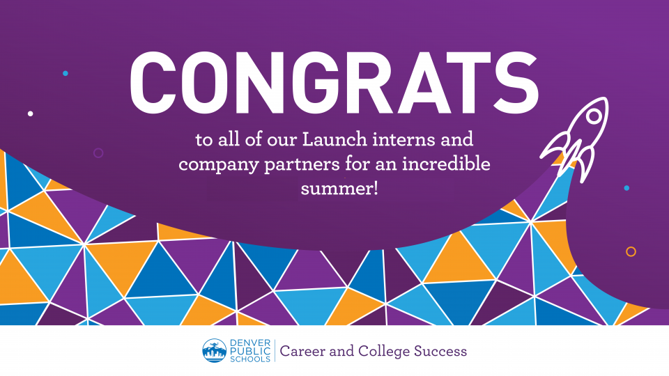 Congrats to all of our Launch interns and company partners for an incredible summer!