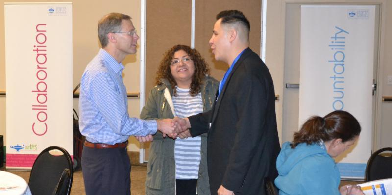 Supt. Tom Boasberg met with DPS families at Superintendent Parent Forums last school year.