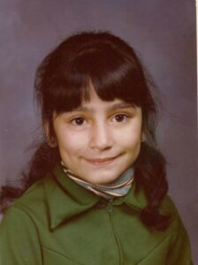 Susana in 4th grade