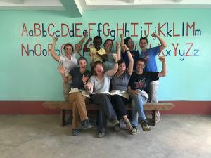 DPS Team Members Work and Learn in Kenya