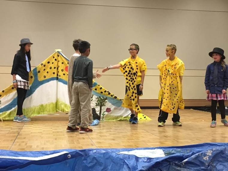 Students participate in Destination Imagination challenges