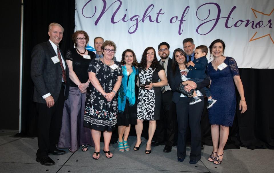 Virginia Morales at DPS Night of Honor