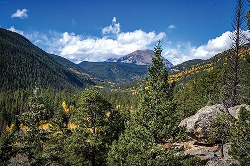 Wild Basin view