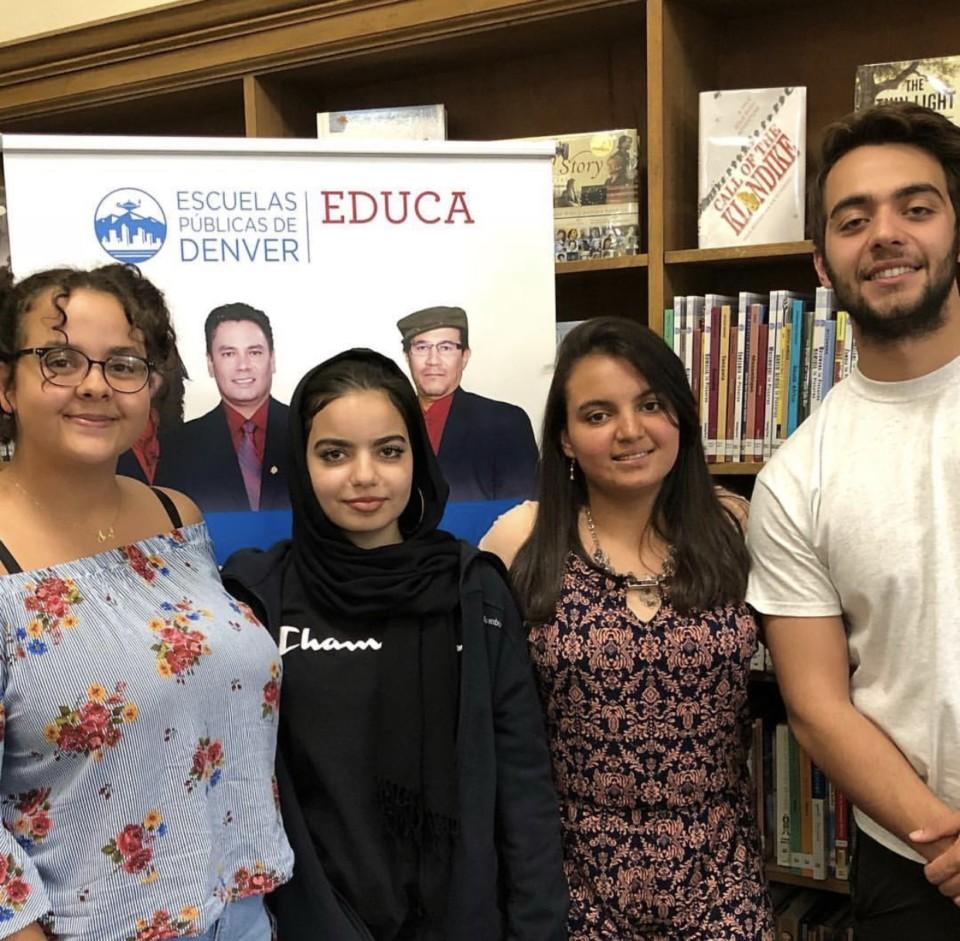Denver Public School's first Educa Youth Radio Program