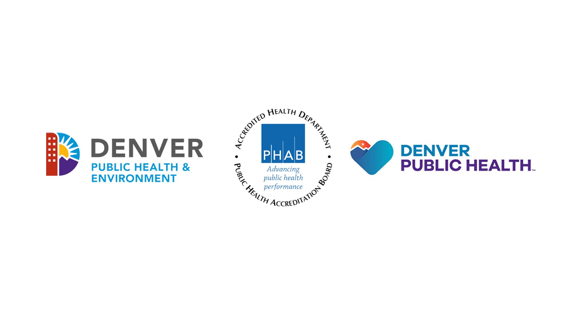 Denver Public Health and DDPHE logos