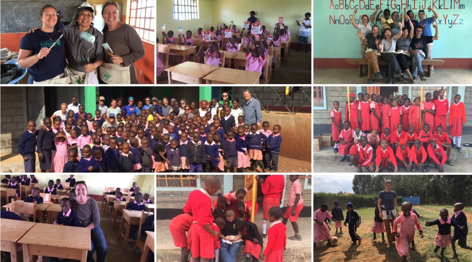 DPS educators from McAuliffe International School, McAuliffe at Manual, Kunsmiller Creative Arts Academy and Skinner Middle School spent their summer break traveling to Nairobi, Kenya on a service learning project.