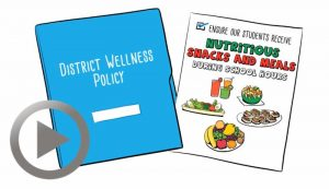 New Wellness Policy for Healthier Snacks for Students